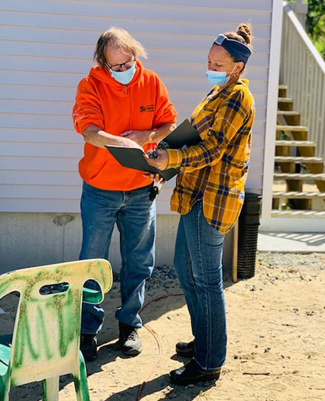 Essex County Habitat for Humanity Volunteers