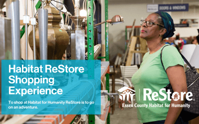Habitat ReStore Shopping Experience